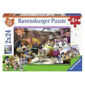 Puzzle 2x24 pz 44 Gatti
