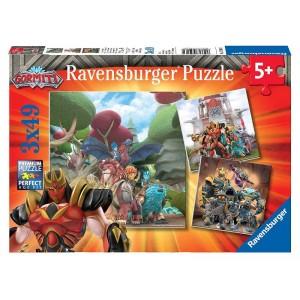 Puzzle 3x49 pz Gormiti