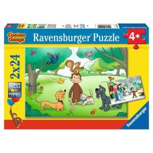 Puzzle 2x24 pz George