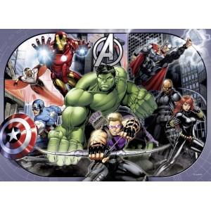 Puzzle 4x100 Avengers