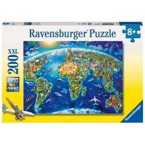 Puzzle 200 pz Vista dall'alto