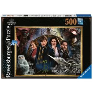 Puzzle 500 pz Animali...