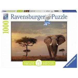 Puzzle 1000 pz Elefante del...
