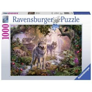 Puzzle 1000 pz Lupi d'estate