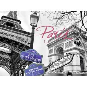 Puzzle 1500 pz A Parigi