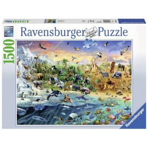 Puzzle 1500 pz Our Wild World
