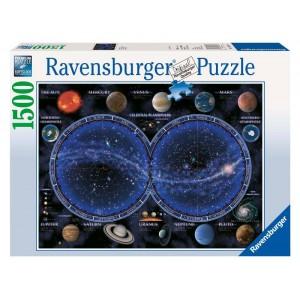 Puzzle 1500 pz Planisfero...