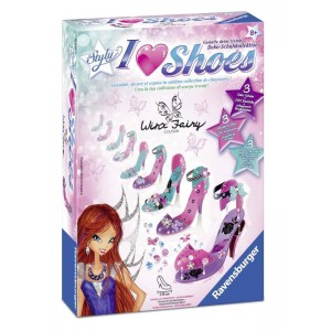 I Love Shoes Winx Midi