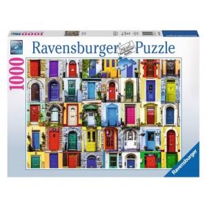 Puzzle 1000 pz Porte del mondo