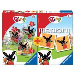 MEMORY CON 3 PUZZLE Bing