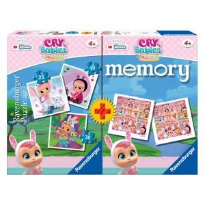 MEMORY CON 3 PUZZLE Cry Babies