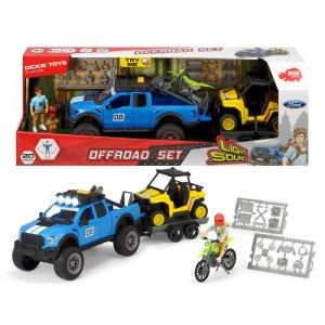 Dickie Set Offroad con Ford...