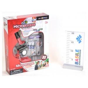 MICROSCOPIO 100-300-600X 33...