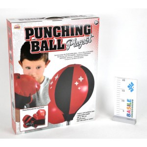 PUNCHING BALL CON GUANTI CM...