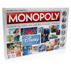 WALT DISNEY ANIMATION MONOPOLY