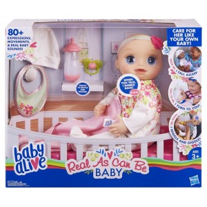 BABY ALIVE AS REAL AS CAN...