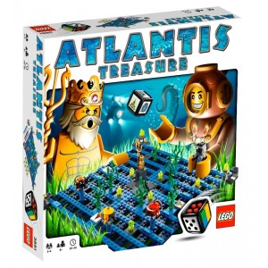 Atlantis Treasure - LEGO 3851
