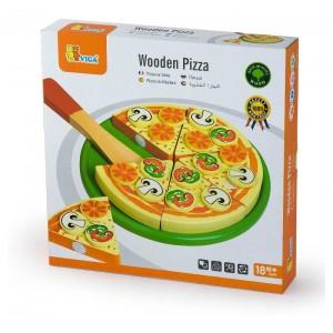 PIZZA TAGLIABILE IN LEGNO -...