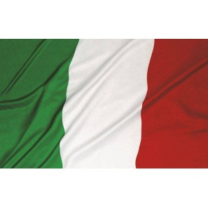 BANDIERA TRICOLORE ITALIANA...