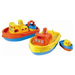 Barca in plastica con suono...
