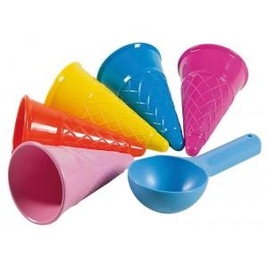 Busta 5 forme coni gelato...