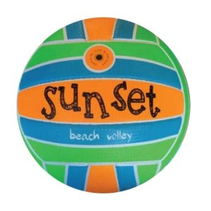 BEACH VOLLEY SUNSET in...