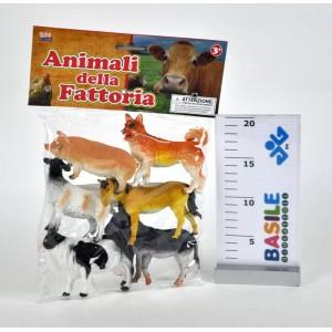 BUSTA 6 ANIMALI FATTORIA...