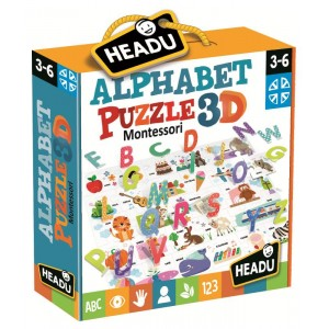 Montessori Alphabet Puzzle 3D