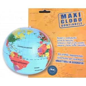 Mappamondo Gonfiabile Ø 50 cm