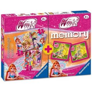 Memory Winx Club + 3 Puzzle...