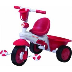 Triciclo 3 in 1 Rosso -...