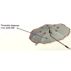 Ombrellino Parasole Grigio